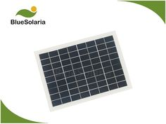 BlueSolaria's 12 volt 6 watt is covered with tempered glass. The 6 watt solar panel adopts efficient PERC solar cell. It's perfect for DC battery. 12 Volt Solar Panels, 12v Solar Panel, Small Solar Panels, Portable Solar Power, Glass, Drinkware, Corning Glass, Yuri, Tumbler