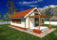 Proiecte de case pentru familii cu trei membri