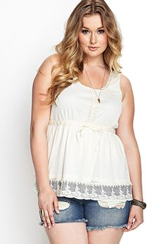 Embroidered Lace Top | FOREVER 21 - 2000062847