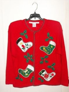 Another December Youth Night ugly sweater idea- Ugly Christmas Sweater. Church Youth Night Kansas City