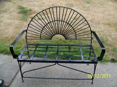 Wrought Iron Bench