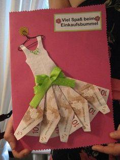 Es steht eine Hochzeit, ein Geburtstag oder eine Babyparty an? 8 lustige Geld-Geschenk Ideen! - DIY Bastelideen (Diy Geschenke Geburtstag)