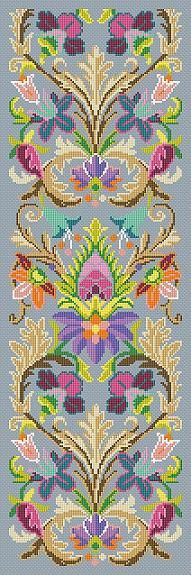 Antique Tapestry Pattern The Medici Fender-Stool Ornament Bell Pull Tapestry…