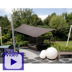 sonnensegel terrassenbeschattung sitzecke rechteckig ma gefertigt pergolen pinterest. Black Bedroom Furniture Sets. Home Design Ideas