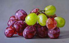 My Paisley World: Succulent Fruit Paintings by Ellery Gutiérrez