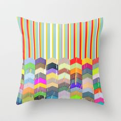 One Direction Throw Pillow by TT+SMITH by Haina - $20.00