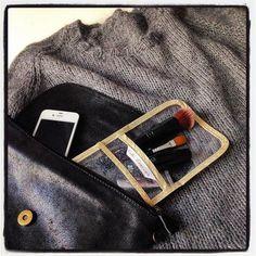 la Pocket #pochette Coté Douceur #glitter #makeup