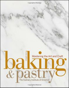 Baking and Pastry: Mastering the Art and Craft 2nd Edition with Student Workbook Set: The Culinary Institute of America is a well respected institution. Founded in 1946, many prominent chefs around the world are CIA alumni. The CIA offers an Associate degree, Bachelors degree and Continuing Education classes to food enthusiasts and professionals. This cookbook is also a textbook used to introduce CIA students to basic and complex baking and pastry techniques.