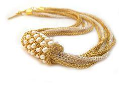 wire crochet jewellry - Google Search