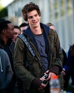 Andrew Garfield - he's actually so perfect