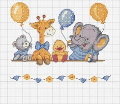quilting like crazy Baby Cross Stitch Patterns, Cross Stitch For Kids, Cross Stitch Boards, Cross Stitch Baby, Cross Stitch Animals, Cross Stitch Designs, Crochet Patterns, C2c Crochet, Cross Stitching
