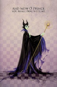 Day 12 Favorite Villain : Malificent because she is badass