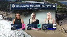 2016 Drug Aware Margaret River Pro (W): Round 1, Heat 4 Video