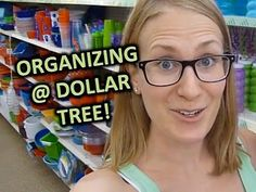 Organization suggestions from the dollar store! ~DOLLAR TREE SHOPPING VLOG! | Best Organizing Products!