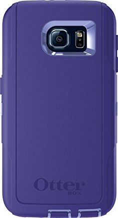 Best Tech Gear OtterBox DEFENDER SERIES for Samsung Galaxy S6 - Frustration-Free Packaging  - Purple Amethyst (Periwinkle Purple/Liberty Purple)
