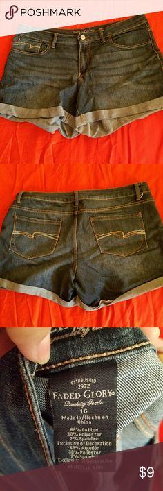 Denim shorts A summer basic. Faded Glory Jeans
