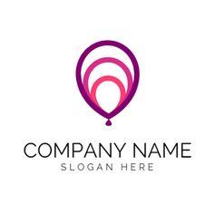 Purple Balloon and Festival logo design Festival Logo, Art Festival, Custom Logo Design, Custom Logos, Balloon Logo, Party Logo, Online Logo, Logo Maker, Google