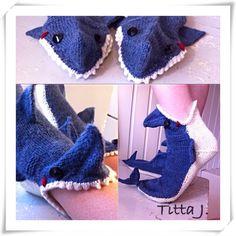 Hui hai -sukat/ shark socks