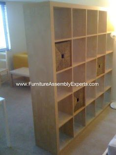 ikea Expedit bookcase assembled in Washington DC by Furniture Assembly Experts company