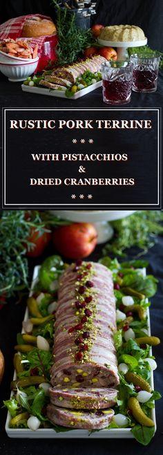 Rustic Meat Terrine Recipe — Dishmaps