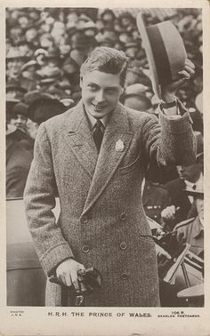 Edward Prince of Wales future Edward VIII.
