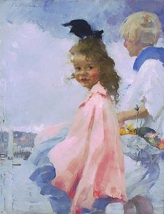 Windy Day by the Sea by Martha Walter in the permanent collection of Cheekwood Museum of Art, Nashville, TN