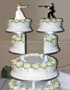 [ Funny Wedding Cakes Funny Collection World ] - funny wedding cake topper funny collection world 19 of the coolest wedding cakes ever made wow amazing,funny wedding cake topper funny collection world fotos funny but cute wedding cakes wedding cake Redneck Wedding Cakes, Unusual Wedding Cakes, Funny Wedding Cake Toppers, Unique Weddings, Blush Weddings, White Weddings, Unique Cakes, Indian Weddings, Wedding Humor