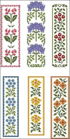 Floral Bookmarks: