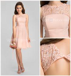 Tenues habill es pour mariage a ligne courte ourlet for Coiffure demoiselle d honneur ado
