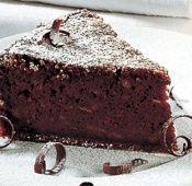 Healthy Chia Chocolate Cake.