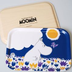 Moomin Collection Pattern Trays