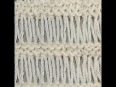 ▶ Tunisian Crochet Drop Stitch - YouTube