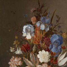 Still Life with Flowers, Balthasar van der Ast, c. 1625 - c. 1630 - Still lifes - Works of art - Explore the collection - Rijksmuseum