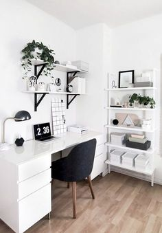 Study Room Decor, Room Ideas Bedroom, Bedroom Designs, Bedroom Decor, Decor Room, Bedroom Furniture, Kid Furniture, Bedroom Plants, Furniture Design