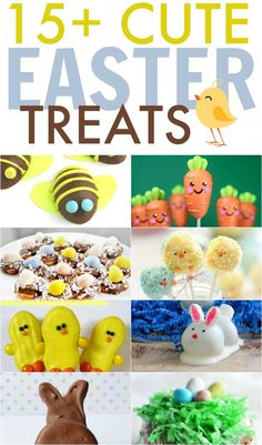 Bake up something fun and delicious with these cute Easter treat ideas.