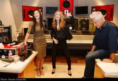 October 2015 Palm's Recording Studio  Celine Dion working on her next French album