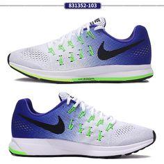 dcd60a075a5df Nike Air Zoom Pegasus 33 Trainers Men s UK 12eur 47.5 US 13 Cm 31 (831352  103) for sale online