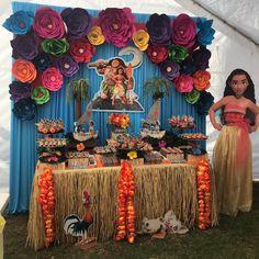 Moana Party, Moana Themed Party, 4th Birthday Parties, Birthday Party Decorations, 2nd Birthday, Birthday Ideas, Moana Theme Birthday, Disney Birthday, Aaliyah Birthday