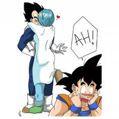 Goku has no idea about being romantic smh no wonder Chi Chi's mean Goku And Vegeta, Son Goku, Pokemon Fairy, Goku Cosplay, Dragon Ball Z Shirt, Dbz Characters, Fanart, Dragon Pictures, Dragonball Z