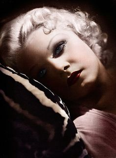 Jean Harlow - Died too young.