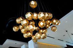 chandelier by Tom Dixon