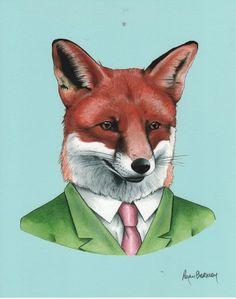 Fox by Ryan Berkley. $18.  http://www.readingfrenzy.com/shoppe/art_prints__posters/980/