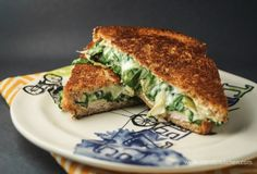 Spinach artichoke is bubbly, cheesy, and warm. Now imagine it in a sandwich. Heaven, right? This grilled cheese recipe is seriously addicting and delicious!