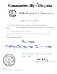 Online corporate docs onlinecorporate on pinterest for getting a virginia certificate of good standing you can contact with us anytime yadclub Choice Image