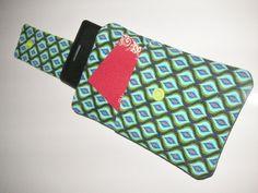 Handytasche mit Geldtasche und Einsteckfach NEU von ARTandMORE auf DaWanda.com