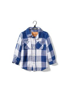 checked shirt - Shirts - Baby boy (3-36 months) - Kids - ZARA