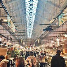 Eastern Market, Washington D.C. Photo courtesy of blondebananablog on Instagram.