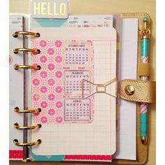 love this little upcoming months inserts I added to my kikkik using the stickers @step... | Use Instagram online! Websta is the Best Instagram Web Viewer!