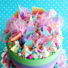 Cake love Cake for you Gorgeous Cakes, Pretty Cakes, Cute Cakes, Amazing Cakes, Candy Cakes, Cupcake Cakes, Pastel Cupcakes, Drip Cakes, Love Cake
