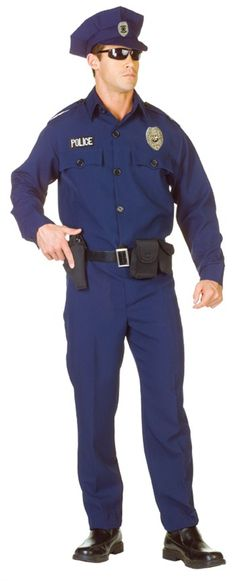 Cool Costumes Officer Adult Plus Size Costume just added...